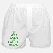 Keep calm and eat the bread Boxer Shorts