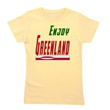 Enjoy Greenland Designs Girl's Tee