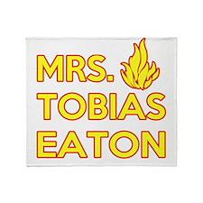 Mrs. Tobias Eaton Dauntless Throw Blanket