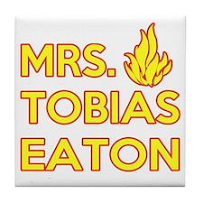 Mrs. Tobias Eaton Dauntless Tile Coaster