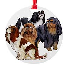 English Toy Spaniels Ornament
