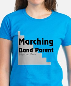 Marching Band Bleacher Bum Tee