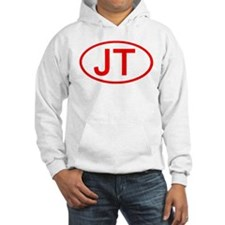 JT Oval (Red) Hoodie