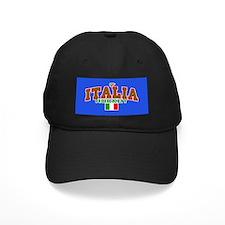IT Italy Italia Hockey Baseball Cap