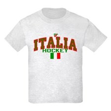 IT Italy Italia Hockey T-Shirt