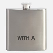 Life is better with a Beauceron Flask