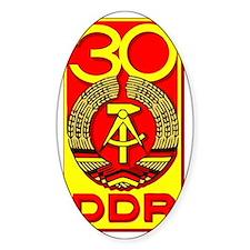DDR Germany comunist vintage propag Decal