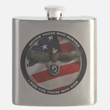 POW - Ride for those who died Flask