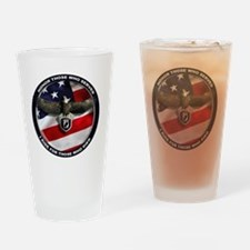 POW - Ride for those who died Drinking Glass
