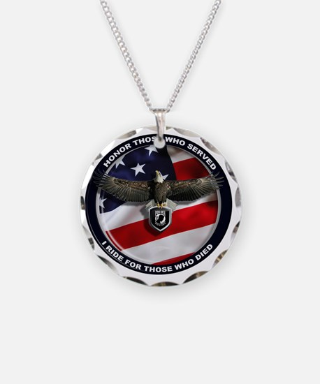 POW - Ride for those who die Necklace