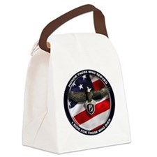 POW - Ride for those who died Canvas Lunch Bag