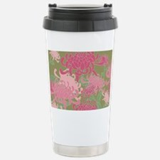 Chrysanthemums Stainless Steel Travel Mug