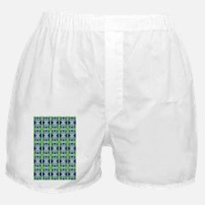 Abstract Floral Pattern Boxer Shorts