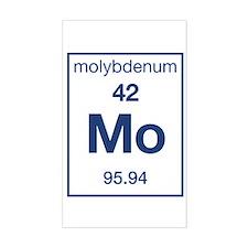 Molybdenum Rectangle Decal