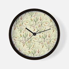 Natures Warmth Pattern Wall Clock