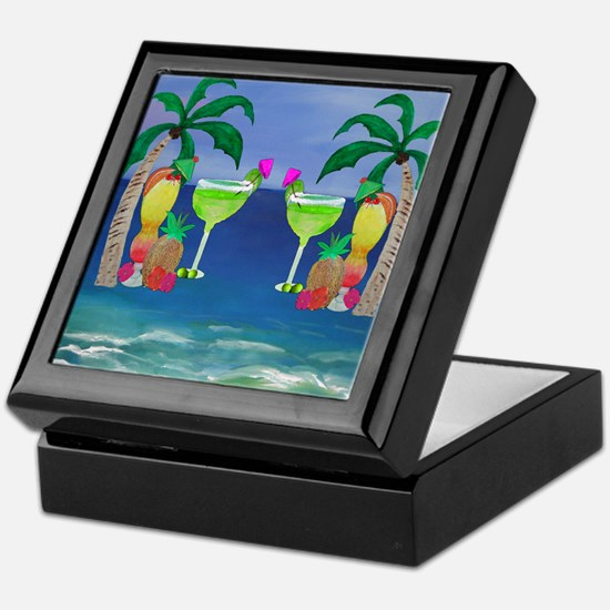 Tropical Drinks Keepsake Box