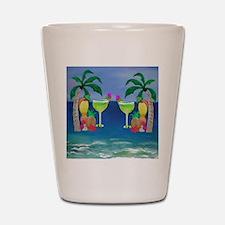 Tropical Drinks Shot Glass