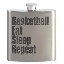 basketball Eat Sleep Repeat Flask