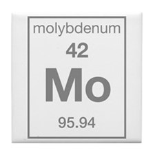 Molybdenum Tile Coaster