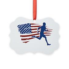 Patriot Runner Ornament