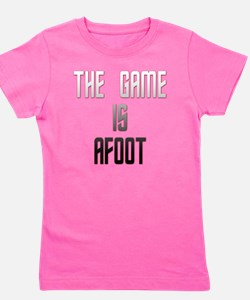 The Game Is Afoot Girl's Tee