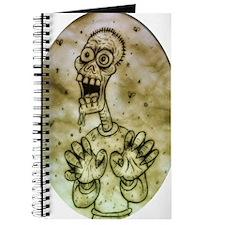 Cartoon Zombie Journal