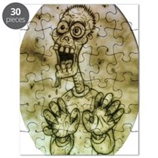 Cartoon Zombie Puzzle