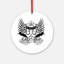 Hardcore Couture Dragon Wings Shiel Round Ornament
