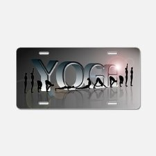 YOGA Bold Aluminum License Plate