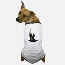 Halloween Castle Dog T-Shirt
