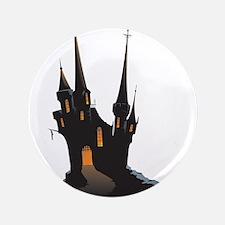 "Halloween Castle 3.5"" Button"