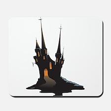 Halloween Castle Mousepad