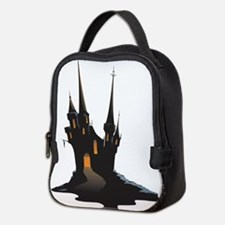 Halloween Castle Neoprene Lunch Bag