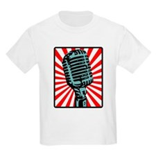 Retro Microphone T-Shirt