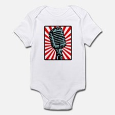 Retro Microphone Infant Bodysuit