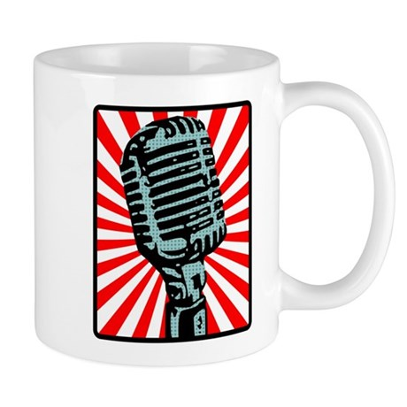 Retro Microphone Mug