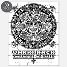 Maya - We are back since 2012 (black) Puzzle