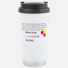 there is an essential o Travel Mug