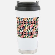 Sushi Pattern Stainless Steel Travel Mug