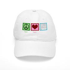 peaceloveaslwh Baseball Cap