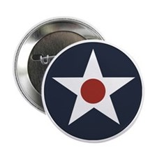"""USAAF roundel 2.25"""" Button"""