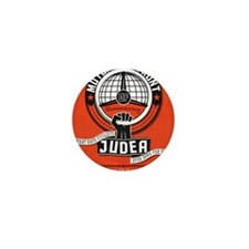 Motorists' Front of Judea solid red Mini Button