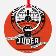 Motorists' Front of Judea solid red Ornament