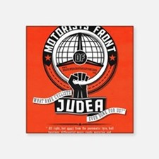 "Motorists' Front of Judea s Square Sticker 3"" x 3"""