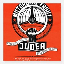 "Motorists' Front of Jude Square Car Magnet 3"" x 3"""