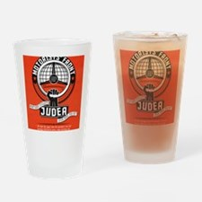 Motorists' Front of Judea solid red Drinking Glass