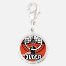Motorists' Front of Judea soli Silver Round Charm