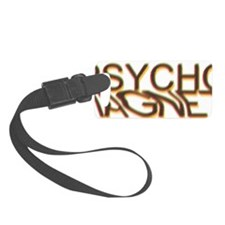 Psycho Magnet Color Glass Effect Luggage Tag