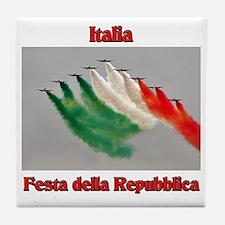 Festa della Repubblica Tile Coaster