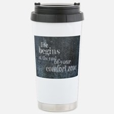 Life Begins Stainless Steel Travel Mug